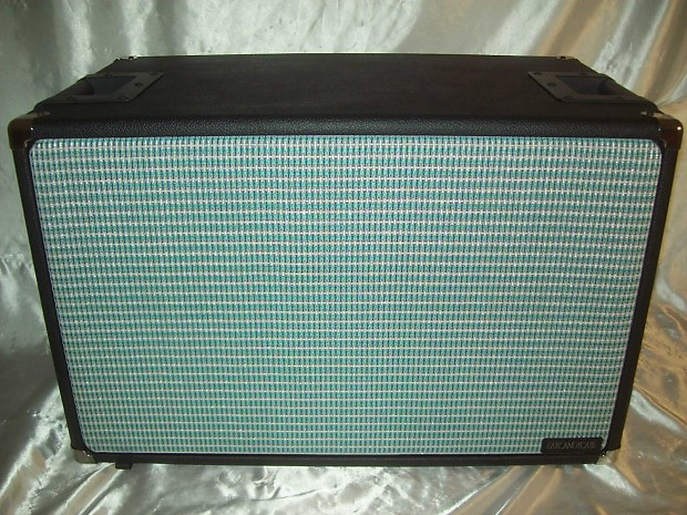 Fender Turquiose Amp Silver Grill Cloth Turquoise 1 Yard