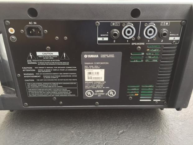 Yamaha emx512sc 2013 black reverb for Yamaha mg16xu dimensions