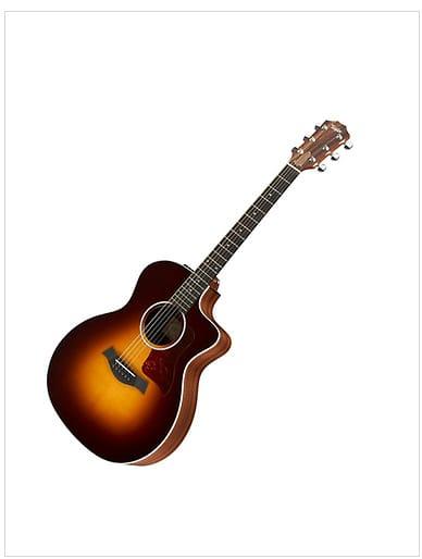 taylor 214ce dlx grand auditorium acoustic electric guitar reverb. Black Bedroom Furniture Sets. Home Design Ideas