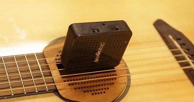 acoustas gx1 wireless acoustic guitar microphone pickup reverb. Black Bedroom Furniture Sets. Home Design Ideas
