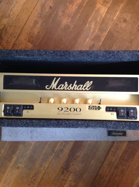 Marshall 9200 Dual Monoblock 100watt Rack Mount Amplifier