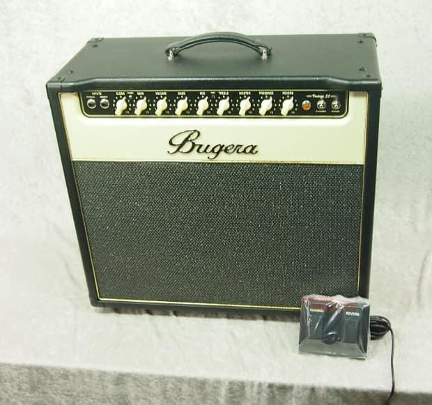 bugera v55 v vintage 55 1x12 combo amp with footswitch reverb. Black Bedroom Furniture Sets. Home Design Ideas