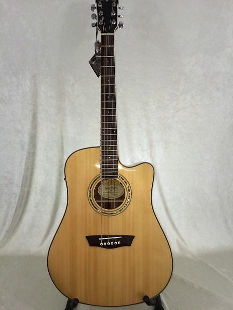 washburn comfort series wcd18ce acoustic electric guitar reverb. Black Bedroom Furniture Sets. Home Design Ideas