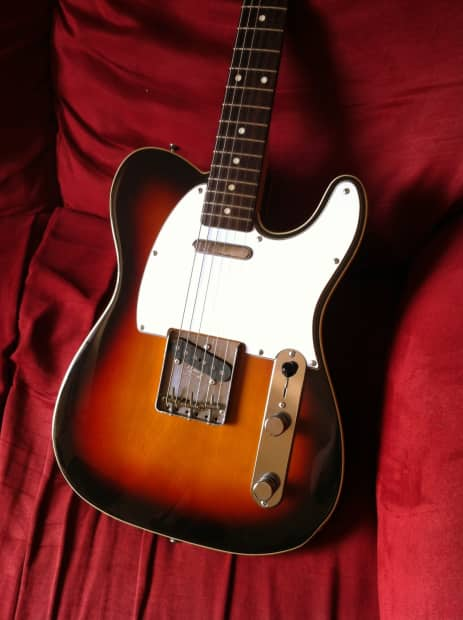 Fender Mij 1962 Reissue Telecaster With Ashtray Cover And