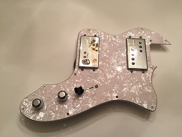fender 72 thinline telecaster white pearl loaded pickguard reverb. Black Bedroom Furniture Sets. Home Design Ideas