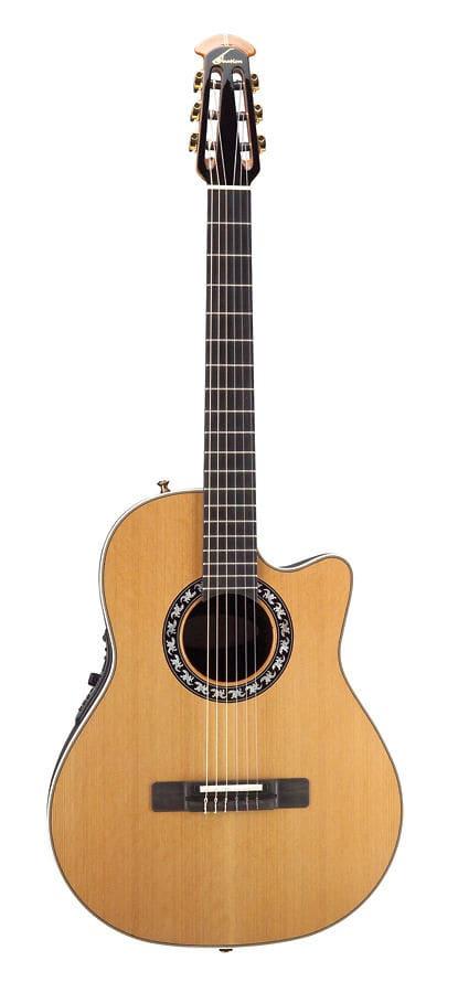 ovation elite ax acoustic electric nylon string guitar reverb. Black Bedroom Furniture Sets. Home Design Ideas