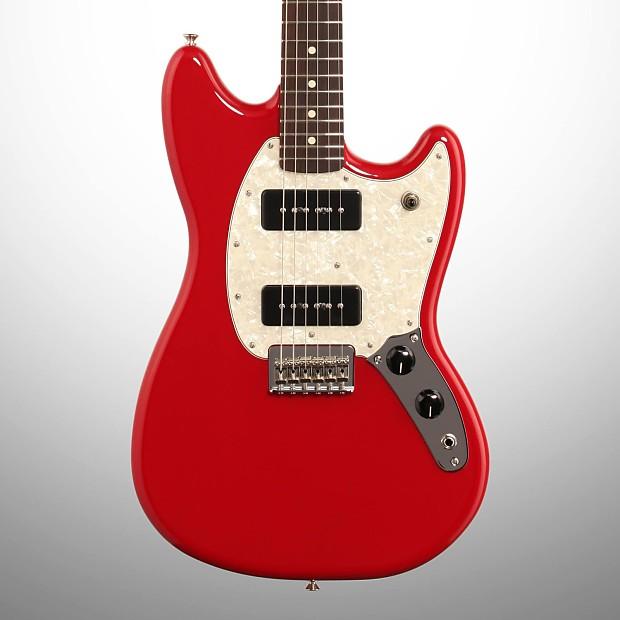 fender mustang 90 electric guitar torino red reverb. Black Bedroom Furniture Sets. Home Design Ideas