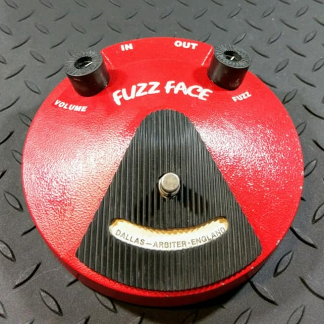 Dunlop Fuzz Face JHF2 1993 NKT275 Transistors Dallas Arbiter reissue FREE SHIPPING image