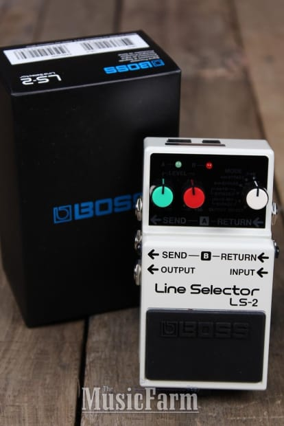 how to use line selector pedal