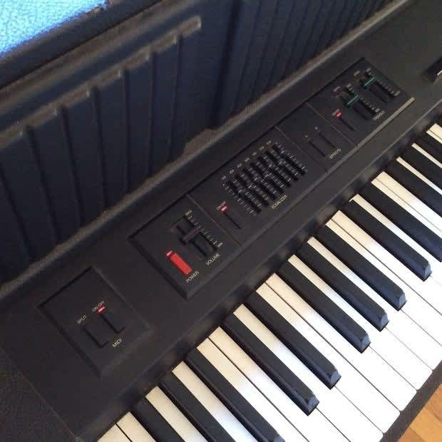 Yamaha Cp 60 Upright Electric Grand Piano 1986 Black Mij