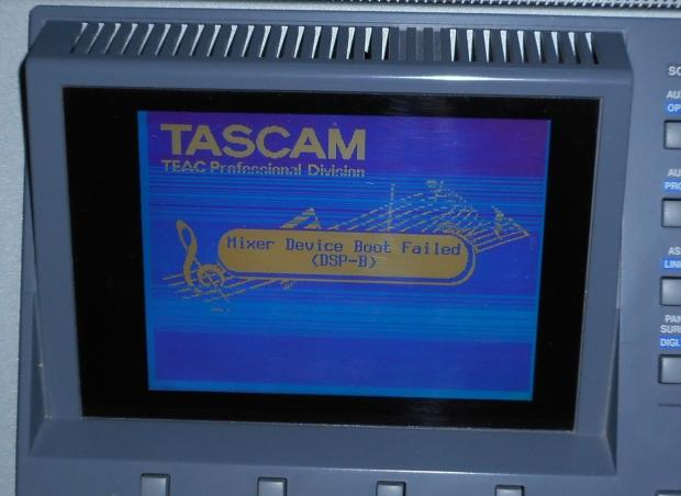 tascam dm 3200 digial mixing console with manual non functioning reverb. Black Bedroom Furniture Sets. Home Design Ideas