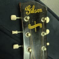<p>Gibson J-45 1943</p>  for sale