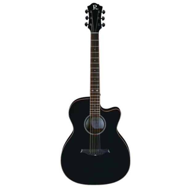 bc rich bcr2bk acoustic electric guitar black reverb. Black Bedroom Furniture Sets. Home Design Ideas
