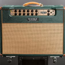 Mesa Boogie Stiletto Ace 2-12 Combo Recent Green Tolex with A Wheat Grill image