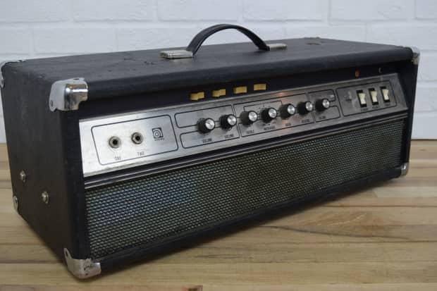 ampeg v 4 classic vintage tube bass amp head excellent used reverb. Black Bedroom Furniture Sets. Home Design Ideas