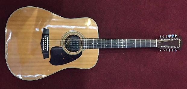 ibanez v302 acoustic 12 string guitar with pickup reverb. Black Bedroom Furniture Sets. Home Design Ideas