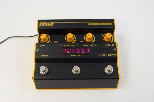 Markbass Super Synth Bass Pedal W Power Supply Mark Bass