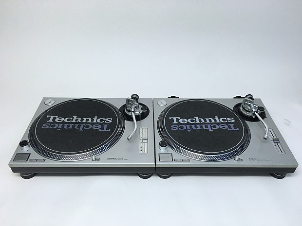 technics sl 1200mk2 pair 1979 silver reverb. Black Bedroom Furniture Sets. Home Design Ideas