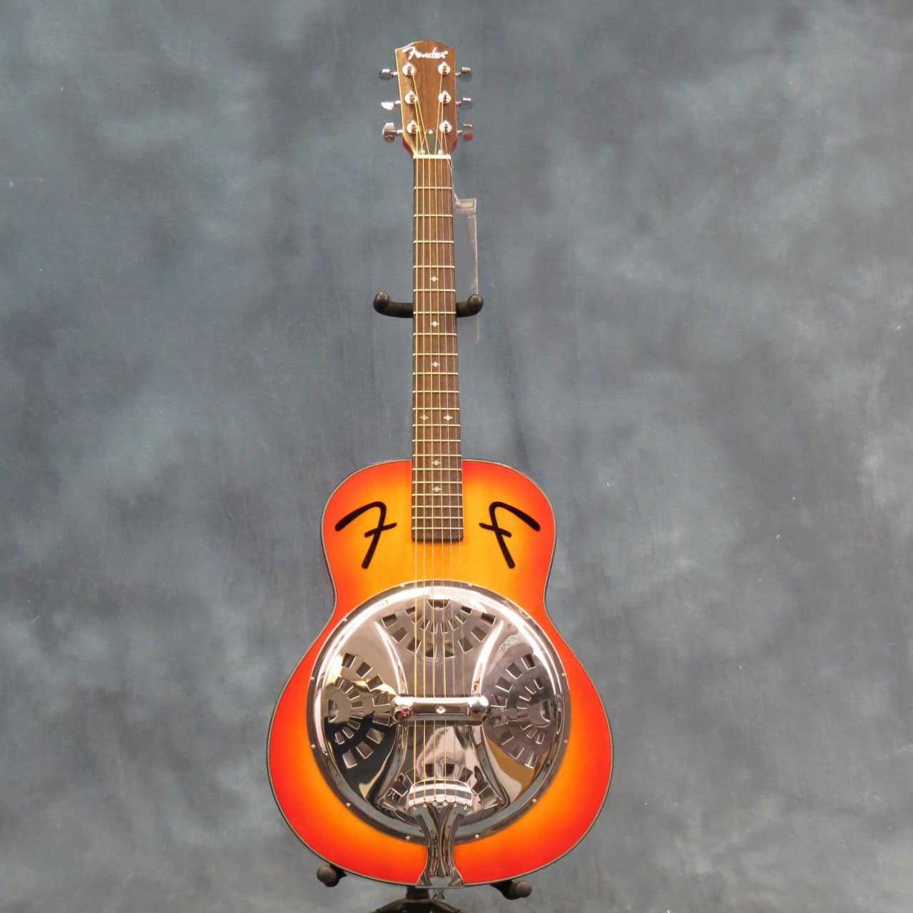 used fender fr 50 resonator guitar sunburst reverb. Black Bedroom Furniture Sets. Home Design Ideas