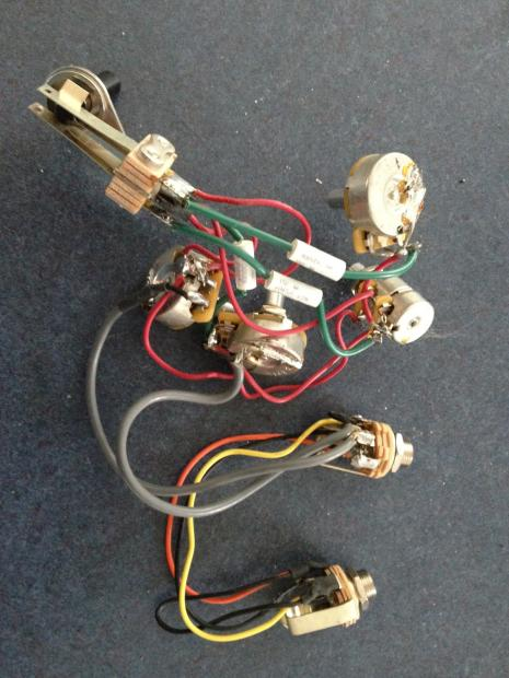 rickenbacker stereo bass wiring harness 2014 vintage tone switch reverb