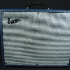 "Supro Thunderbolt S6420 1x15"" 35 Watt All Tube Guitar Amplifier Combo W/Cover image"