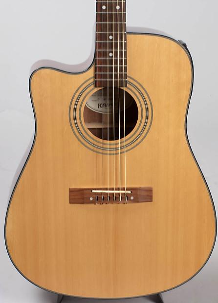 rare lefty kramer acoustic electric guitar model d 200scel na reverb. Black Bedroom Furniture Sets. Home Design Ideas