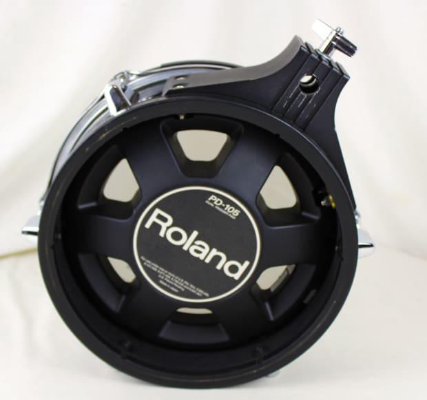 roland pd 105 dual trigger mesh head v drum pad black church reverb. Black Bedroom Furniture Sets. Home Design Ideas