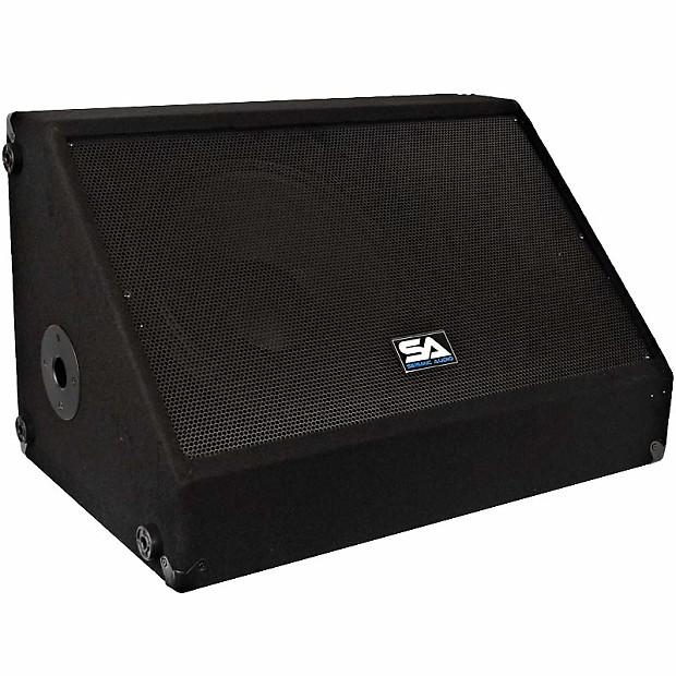 12 floor stage monitor pa speaker new 250 watts church for 12 floor speaker