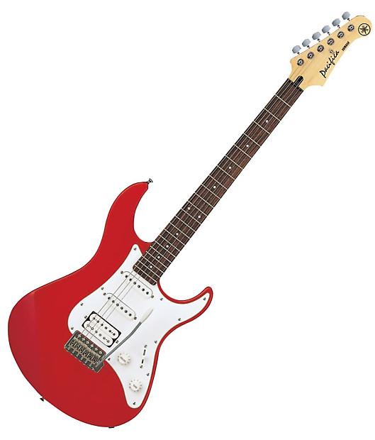 yamaha pac112j rm metallic red double cutaway electric guitar reverb. Black Bedroom Furniture Sets. Home Design Ideas
