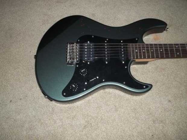 yamaha pacifica 112 xj rare color nice guitar strat reverb. Black Bedroom Furniture Sets. Home Design Ideas