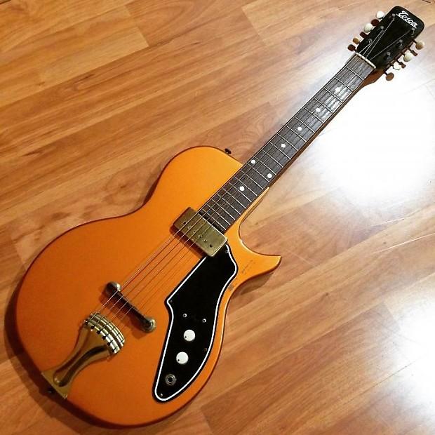 vintage valco supro tosca thunder stick electric guitar reverb. Black Bedroom Furniture Sets. Home Design Ideas