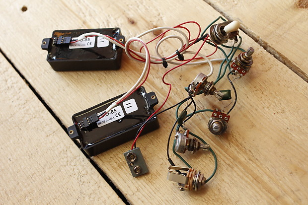 emg 84 active humbuckers pickups harness pots wiring. Black Bedroom Furniture Sets. Home Design Ideas