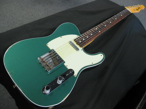 Fender Custom Shop Relic 63 Telecaster Custom Sherwood