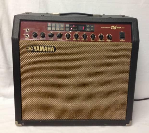 Yamaha dg80 112 prototype reverb for Yamaha thr10x specs