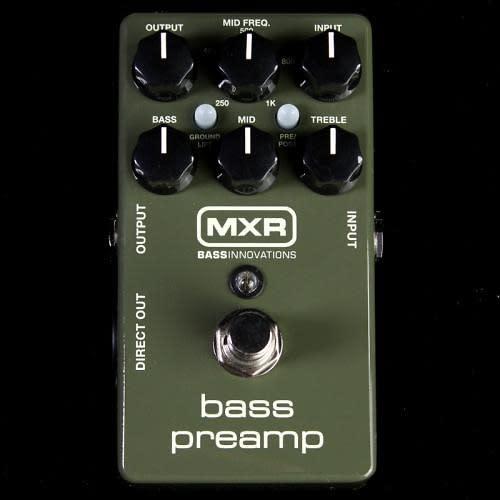 mxr m81 electric bass guitar preamp effect pedal reverb. Black Bedroom Furniture Sets. Home Design Ideas