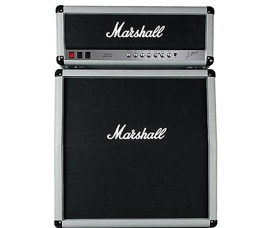 marshall 2555x silver jubilee head with 2551av cabinet half reverb. Black Bedroom Furniture Sets. Home Design Ideas