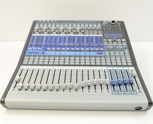 presonus studiolive 16 4 2 ai 16 channel digital mixer reverb. Black Bedroom Furniture Sets. Home Design Ideas