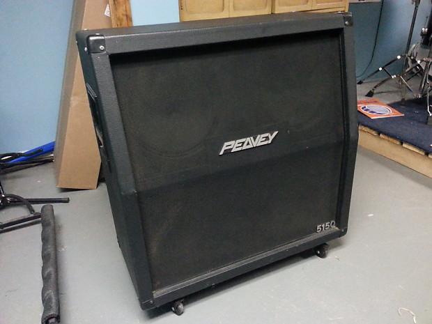 peavey 5150 4x12 cab cabinet 1990s black reverb. Black Bedroom Furniture Sets. Home Design Ideas