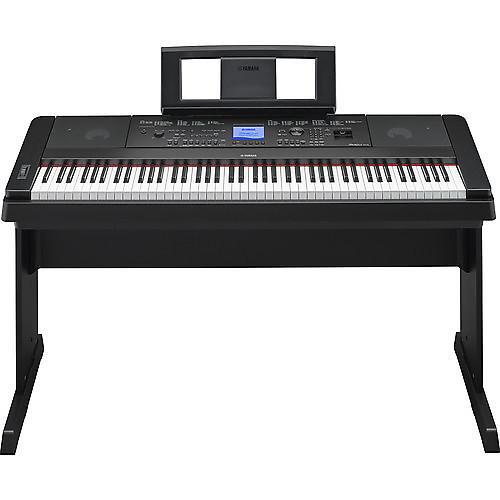 Yamaha dgx 660 portable grand digital piano black reverb for Yamaha dgx 660 review