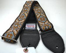 NEW! Souldier Guitar Straps - Haida Grey - Leather Ends image