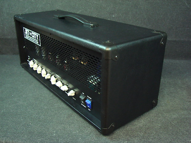 jet city jca50h guitar amplifier 50w tube amp head big reverb. Black Bedroom Furniture Sets. Home Design Ideas