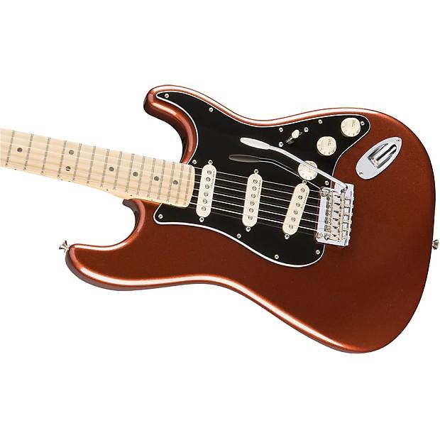 fender deluxe roadhouse stratocaster electric guitar maple reverb. Black Bedroom Furniture Sets. Home Design Ideas