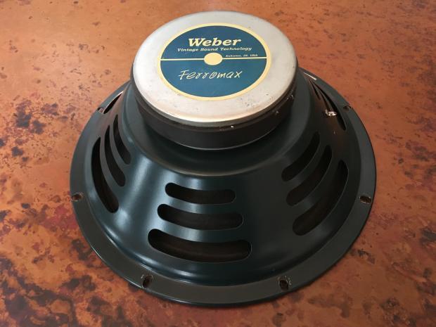 Weber Vintage Series Ferromax 12f50 12 Quot Guitar Amp Speaker