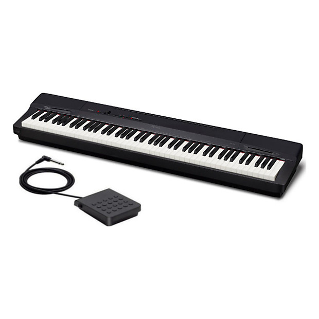 casio privia px160 88 weighted key digital piano reverb. Black Bedroom Furniture Sets. Home Design Ideas