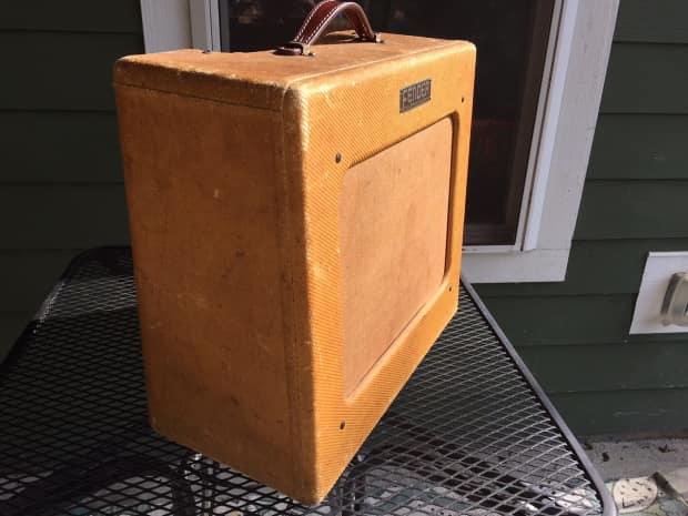 1951 Fender Tweed Deluxe 5a3 Quot Tv Front Quot Combo Amplifier