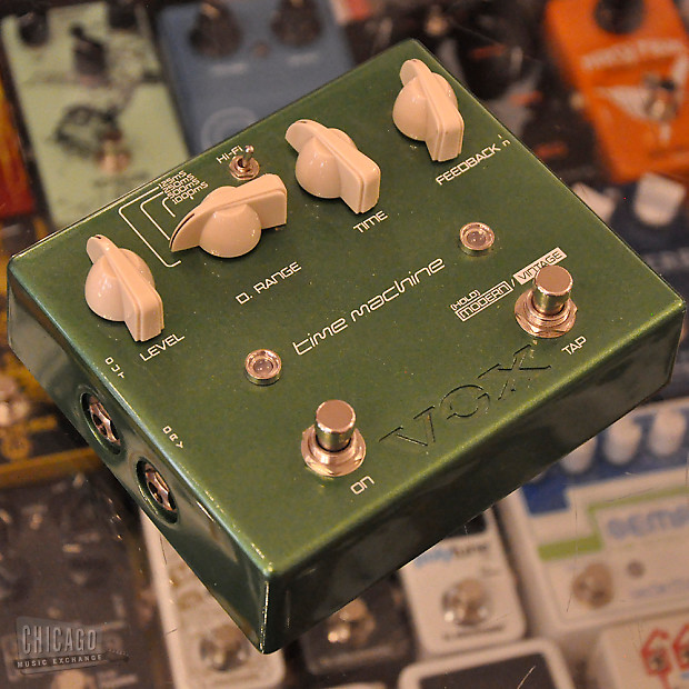 vox time machine delay pedal