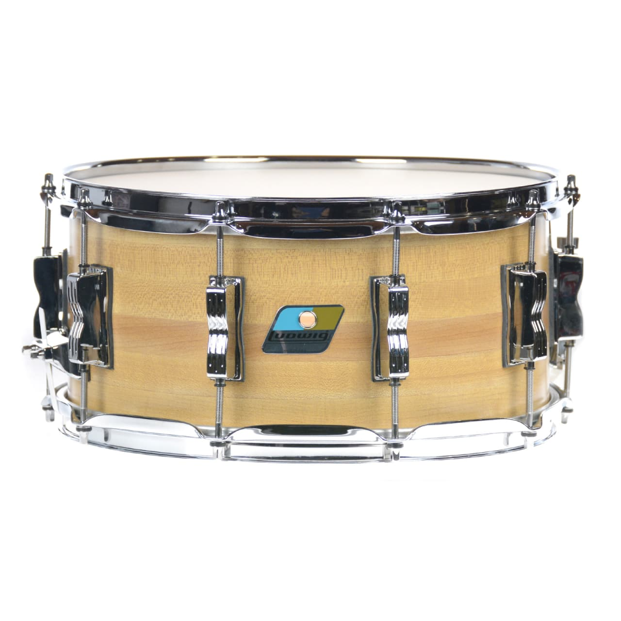 Ludwig classic maple snare drum butcher block reverb for Classic house drums