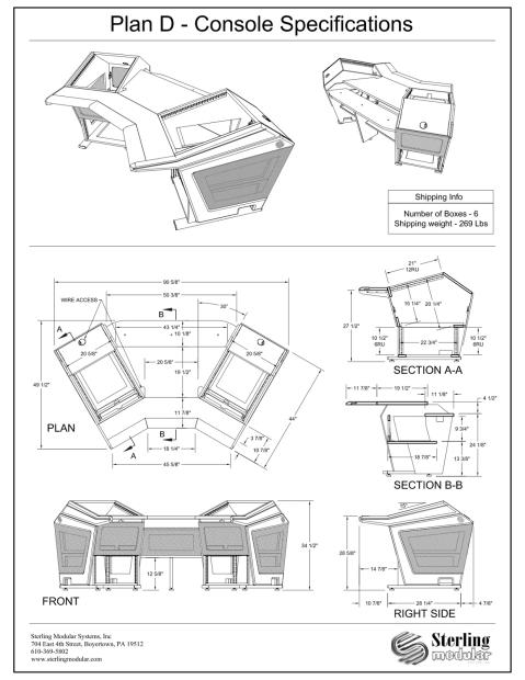Sterling modular plan d brushed aluminum reverb for Sterling plan