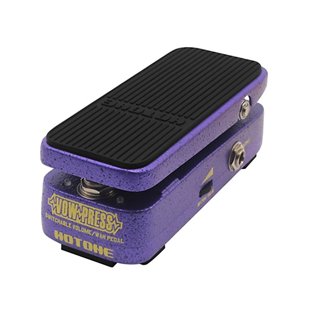 hotone vow press combo wah volume guitar effects pedal reverb. Black Bedroom Furniture Sets. Home Design Ideas