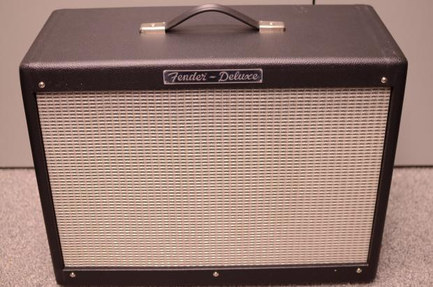 fender rod deluxe 1x12 cabinet extension black used reverb